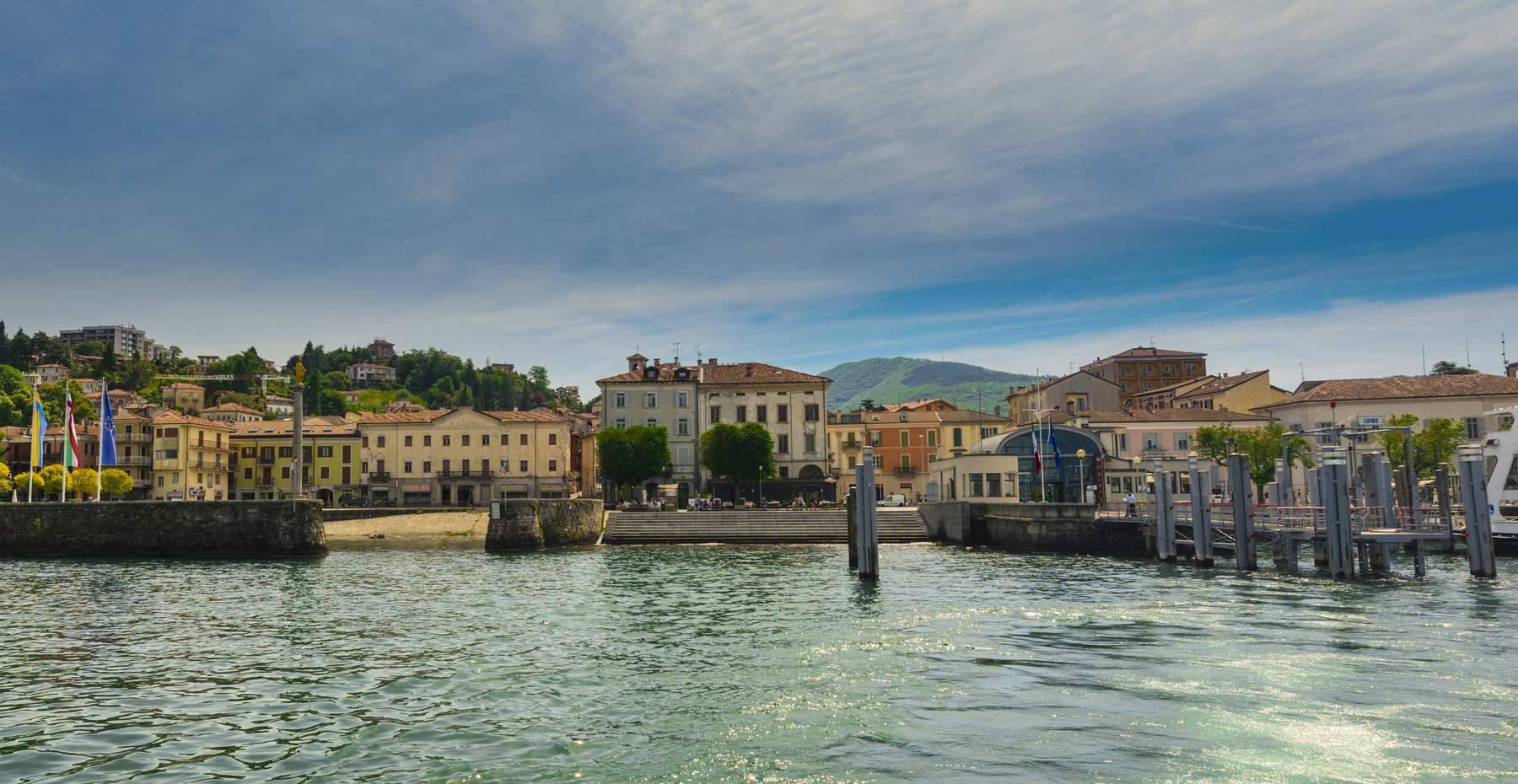 Luino lago maggiore sehenswertes nahe varese camin hotel for Designhotel lago maggiore